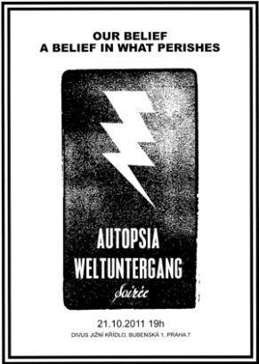 [b]AUTOPSIA: WELTUNTERGANG |[/b]  pogromová výstava