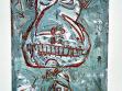 Slunce v lahvi - malby motivů z vinět, 1995