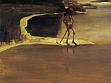 Max Klinger, Močící smrt, 1880<br />olej na plátně