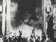 Velká brána povolila, záběr z filmu King Kong, USA, 1933