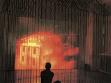 Vessna Perunovich, House of Exile, 2003, videoinstalace, foto: archiv Tiranského bienále 2