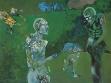 Muslim Mulliqi, Figurální obraz, 70. léta, malba na plátně