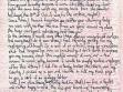 Jeden z Nondasových dopisů Radkovi Wohlmuthovi