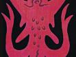 Fleshtool (Masovák), 2001, akryl na plátně, 18 x 23