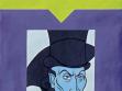 Blanka Jakubčíková, Bůh není mrtev (z cyklu Opus Diabolicum) 1999, akryl na papíře