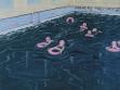 Adam Adach, Olympijský bazén (Basen olimpijski), 2002, olej na plátně