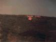 Sokol Beqiri, Think Pink, 2001, projekce na betonový bunkr v Peji, repro: Exit