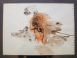 Věra Vampolová, Blanka, 1997, lavírovaná kresba, 40 x 25 cm, repro: Divus