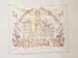 Aneta Mona Chisa, Lucia Tkáčová, Donnez Forme A Vos Instincts, 2003, malba na výšivce, foto: autorky