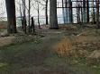 Horní patro holandského pavilonu se shnilotinami pýchy živého lesa.