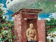 Vasily Tsagolov, de la serie Expedientes-X  Ucranianos, acrílico sobre lienzo, 2003,  150 x 200 cm