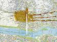 flyingCity, Map Drift, 2001, skvrna od kávy na mapě