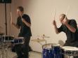 O stupňování napětí se starali dynamičtí bubeníci z Drum Extasy...