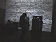 "Steven Parrino´s concert Electrophilia, June 7, 2002 at the exhibition ""1979-Present"", Center of Contemporary Art, Lausanne. Repro: Circuit."