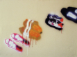 Shoes, 2006, acrylllic on canvas, 100 x 135 cm.