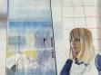 Veronika Rónaiová, A Portrait of a Nurse, 1977, oil on canvas, 95x124 cm.