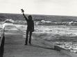 Vladimír Havlík, Statue of Liberty, 1980, performance.