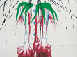 Lucie Ferliková. from the series Pineapple PIerrot, 2006, acryl on canvas, 140x190 cm