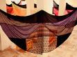 pohled do Nonad, instalace Kristen Alvanson v Azad Gallery Teherán
