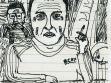 """Kollege Enrico in der Kneipe """"Zum Biber"""", 2006"""