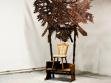 Ben Cottrell. Boží hlava a trůn,  dřevo, 50 x 200 x 350 cm, 2009
