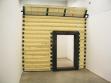 Super Flat (2007), polyurethane wood, metal construction, electromotor. Repro: Tomáš Džadoň's archive.