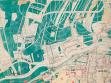 F.L. Gahura, Regulierungsplan der Stadt Zlín, Regulierung des alten Zentrums und der Fabrik (Detailansicht), Zlín, 1931, KGVUZ