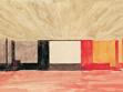 F.L. Gahura, Entwurf des Farbschemas für den Innenraum des Großen Kinos, Zlín, 1931, MuMB