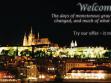 """Pohlednice vyrobené God""""s Entertainment pro účely performance Wien, Raab, Pressburg, navržené speciálně pro Brno a Prahu"""