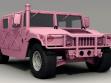 David Černý. Rosa Humvee, 2010. Anländische des Gedächtnistages der US-Invasion im Irak