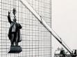 Vitaly Komar und Alexander Melamid Projekt für die Lenin-Statue, 1993