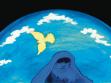 Monira Al-Quadiri. Scene from animation short The Black Moon, 2007