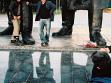 Elly Clarke. The Trans-Siberian Photo Project. 2006.  Lenin's Foot, Novosibirsk Hand printed colour photo, 30x40cm