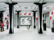 Pohled do instalace výstavy: Unavená smrt, Dvoreček lidských svárů, Markus Selg, Astrid Sourkova, Andrew Gilbert, Bernhard Lehner, Dominic Wood, 2009.