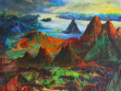 Scenery, 2004, acrylic painting on canvas, 190 x 200 cm