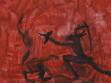 Gilles de Rais, 2005, acrylic painting on fibreboard, 25 x 25 cm