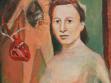 Ilona, 2004, acrylic painting on fibreboard, 25 x 28,5 cm
