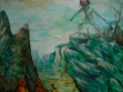 Giantess, 2008, acrylic painting on canvas, 160 x 200 cm