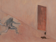 Hide and seek and more play, 2000, oil painting on fibreboard, 34 x 106,5 cm