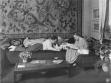 Fritz Lang a Thea von Harbou, Berlín-Schmargendorf, 1923-24, repro: Die Dame, 1924.