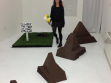 Beth Fox 'I'M CURATING MY OWL SOLO SHOW!!!!!!111' opening night