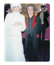 Simon Barker aka Six, Jayne County, Peter Crowley -  Jubilee Premiere