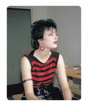 Simon Barker aka Six, Siouxsie – The Gaze, St James Hotel