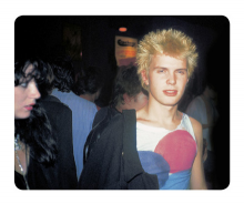 Simon Barker aka Six, Billy Idol, Admirer  The Vortex