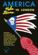 Mike Diana - London Show Poster