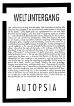 Autopsia poster from Weltuntergang Show: Weltuntergang (1)