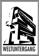 Autopsia poster from Weltuntergang Show: Weltuntergang