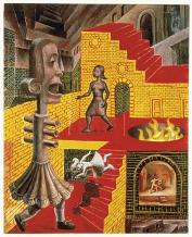 Stu Mead: Falling Stairway