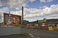 Ibra Ibrahimovic: Tovární ulice v Ústí nad Labem - březen 2016