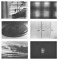 Fire For Pockets!, 1997, 6 black and white photographs, 43.3 x 62.9 in